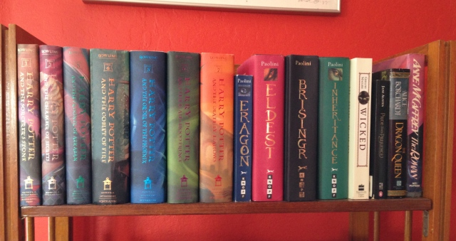 Library Fantasy Books