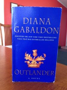 My copy of Outlander