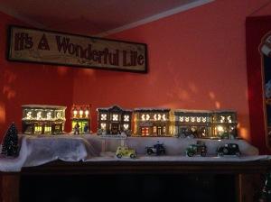 It's a Wonderful Life Village