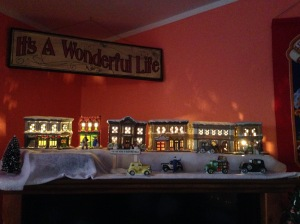 It's a Wonderful Life Village