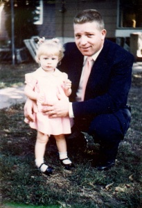 Dad and me on Easter Sunday